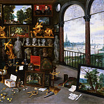 Jan Brueghel the Younger, Flemish , 1601-1678 -- Allegory of Sight , Philadelphia Museum of Art