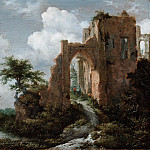 Jacob Isaacksz. van Ruisdael, Dutch , 1628/29-1682 -- Entrance Gate of the Castle of Brederode, Philadelphia Museum of Art