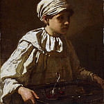 Thomas Couture, French, 1815-1879 -- The Little Confectioner, Philadelphia Museum of Art