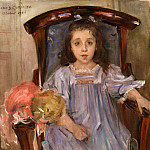 Lovis Corinth, German, 1858-1925 -- Portrait of Sophie Cassirer, Philadelphia Museum of Art