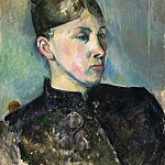 Paul Cézanne, French, 1839-1906 -- Portrait of Madame Cézanne, Philadelphia Museum of Art