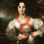 Portrait of Harriott West (later Mrs. William Woodgate), Thomas Lawrence
