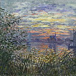 Claude Monet, French, 1840-1926 -- Marine View with a Sunset, Philadelphia Museum of Art