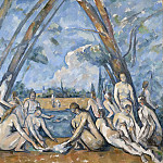 Paul Cézanne, French, 1839-1906 -- The Large Bathers, Philadelphia Museum of Art