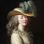 Philadelphia Museum of Art - Louise-Elisabeth Vigée-Lebrun, French, 1755-1842 -- Portrait of Madame Du Barry