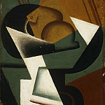 Juan Gris , Spanish, 1887-1927 -- Dish of Fruit, Philadelphia Museum of Art