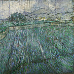 Vincent Willem van Gogh, Dutch, 1853-1890 -- Rain, Philadelphia Museum of Art