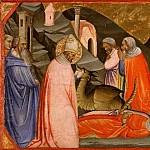 Saint Sylvester and the Dragon, Taddeo Gaddi