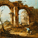 Francesco Guardi, Italian , 1712-1793 -- Capriccio, Philadelphia Museum of Art