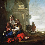 Philadelphia Museum of Art - Jan Baptist Weenix, Dutch (active Amsterdam, Rome, and Utrecht), 1621-1660/61 -- Rest on the Flight into Egypt