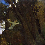 Arnold Böcklin, Swiss, 1827-1901 -- Sappho, Philadelphia Museum of Art
