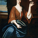 Nehemiah Partridge, American, 1683-c. 1737 -- Portrait of Catryna van Rensselaer ten Broeck, Philadelphia Museum of Art