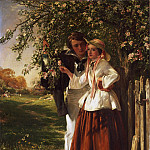 Philadelphia Museum of Art - John Callcott Horsley, English, 1817-1903 -- Lovers under a Blossom Tree