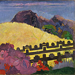 Philadelphia Museum of Art - Paul Gauguin, French, 1848-1903 -- The Sacred Mountain (Parahi Te Marae)