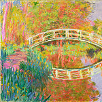 Japanese Footbridge, Giverny, Claude Oscar Monet