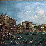 Philadelphia Museum of Art - Francesco Guardi, Italian (active Venice), 1712-1793 -- A Regatta on the Grand Canal