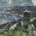Bay of l'Estaque, Paul Cezanne