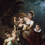 George Henry Harlow, English, 1787-1819 -- Portrait of the Leader Children, Philadelphia Museum of Art