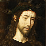 Philadelphia Museum of Art - Domenico Ghirlandaio, Italian (active Florence), 1449-1494 -- The Man of Sorrows (Christ Crowned with Thorns)