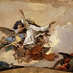 Giovanni Battista Tiepolo, Italian 1696-1770 -- Sketch for «The Glory of Saint Dominic», Philadelphia Museum of Art
