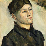 Portrait of Madame Cézanne, Paul Cezanne