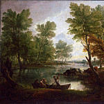 Thomas Gainsborough, English, 1727-1788 -- View near King's Bromley, on Trent, Staffordshire, Philadelphia Museum of Art