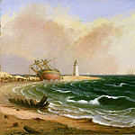 Jacob Eichholtz, American, 1776-1842 -- Cape Henlopen, Philadelphia Museum of Art