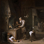 David Teniers II, Flemish , 1610-1690 -- The Alchemist, Philadelphia Museum of Art
