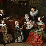 Cornelis de Vos, Flemish , 1584/85-1651 -- Portrait of Anthony Reyniers and His Family, Philadelphia Museum of Art