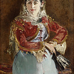 Édouard Manet, French, 1832-1883 -- Portrait of Émilie Ambre as Carmen, Philadelphia Museum of Art