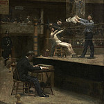Thomas Eakins, American, 1844-1916 -- Between Rounds, Philadelphia Museum of Art