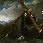 Philadelphia Museum of Art - Bartolomé Esteban Murillo, Spanish (active Seville), 1618-1682 -- Christ Bearing the Cross