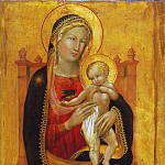 Philadelphia Museum of Art - Battista di Gerio, Italian (active Pisa), documented 1418-1433 -- Enthroned Virgin and Child