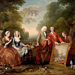 Philadelphia Museum of Art - William Hogarth, English, 1697-1764 -- Conversation Piece (Portrait of Sir Andrew Fountaine with Other Men and Women)
