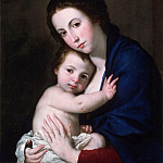 José Jusepe de Ribera, also called Lo Spagnoletto, Spanish , 1591-1652 -- Virgin and Child, Philadelphia Museum of Art