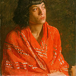 The Red Shawl, Thomas Eakins