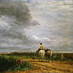David Cox, English, 1783-1859 -- Going to the Hayfield, Philadelphia Museum of Art