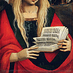 Workshop of Luca Signorelli, Italian , first documented 1470, died 1523 -- Saint Mary Magdalene, Philadelphia Museum of Art