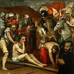 Philadelphia Museum of Art - Luis de Vargas, Spanish (active Seville and Rome), 1502-1568 -- Preparations for the Crucifixion