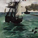 Édouard Manet, French, 1832-1883 -- Marine View, Philadelphia Museum of Art