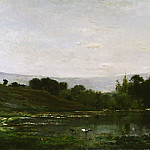 Charles-François Daubigny, French, 1817-1878 -- Solitude, Philadelphia Museum of Art