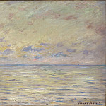 Philadelphia Museum of Art - Claude Monet, French, 1840-1926 -- Marine near Étretat