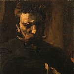 Philadelphia Museum of Art - Frank Duveneck, American, 1848-1919 -- Portrait of William Merritt Chase
