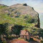Claude Monet, French, 1840-1926 -- Customhouse, Varengeville, Philadelphia Museum of Art