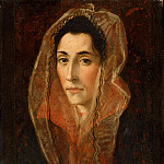 Attributed to El Greco , Spanish , 1541-1614 -- Portrait of a Lady, Philadelphia Museum of Art