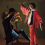 Judith Leyster, Dutch , 1609-1660 -- The Last Drop, Philadelphia Museum of Art