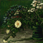 Vincent Willem van Gogh, Dutch, 1853-1890 -- Still Life with a Bouquet of Daisies, Philadelphia Museum of Art