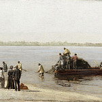 Thomas Eakins, American, 1844-1916 -- Shad Fishing at Gloucester on the Delaware River, Philadelphia Museum of Art