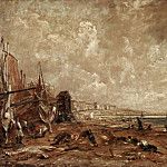 Philadelphia Museum of Art - John Constable, English, 1776-1837 -- The Marine Parade and Chain Pier, Brighton (Sketch)