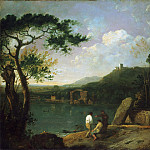 Richard Wilson, Welsh, 1713-1782 -- Lake Avernus I, Philadelphia Museum of Art